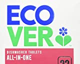 Image of Ecover All in One Dishwasher Tablets, 22s