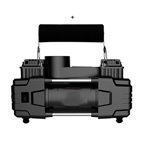 WNN-URG Neumático del, Portátil 12V DC neumáticos Bomba compresora, portátil automático Digital con neumático del Calibre for el automóvil, Motocicleta URG