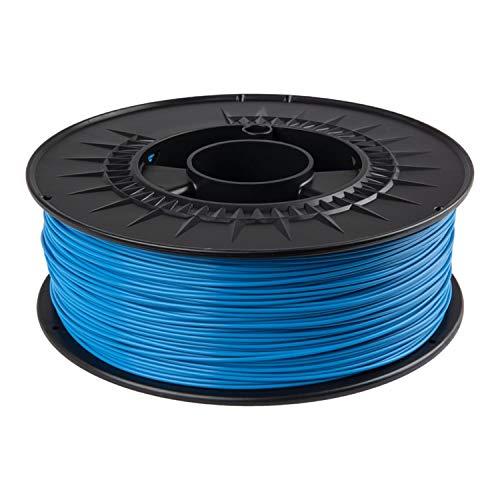 PLA Filament 1.75 mm 1kg lebensmittelecht für 3D Drucker in RAL Farben (Himmelblau RAL 5015)