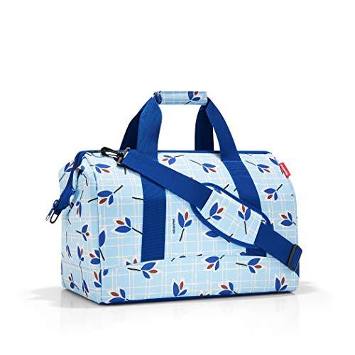 Reisenthel Allrounder Reisetaschen, 48 cm, 30 L, Leaves Blue