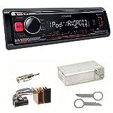 Kenwood KMM-203 Autoradio USB MP3 WMA Einbauset für Mercedes A C M Klasse W168 W163 W202