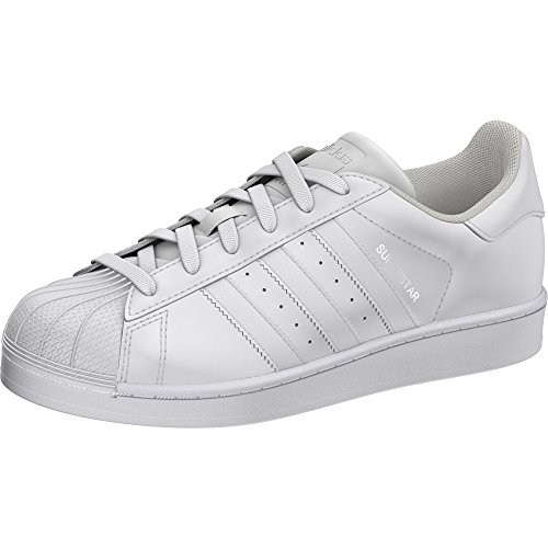 adidas - Superstar J GS - Sneakers - Sportschuhe, damen Kind, bianco