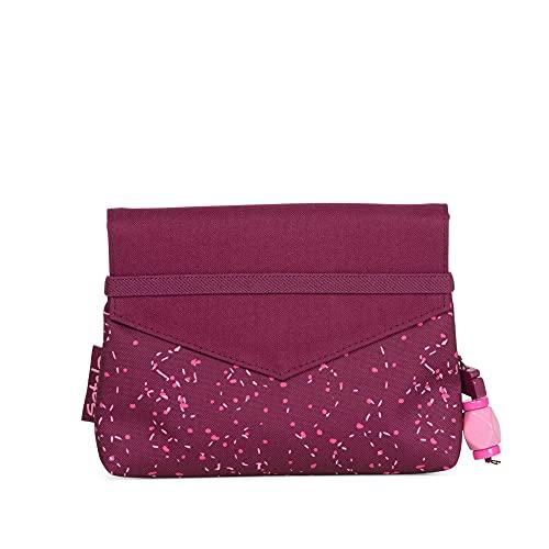Satch Clutch Bash Mochila Tiempo Libre y Sportwear Unisex Infantil, Niños, Berry Pink Speckled (Rosa), Talla Única