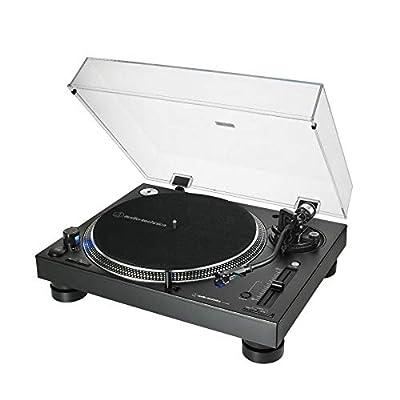 Audio Technica AT-LP140XP Professional DJ Direct-Drive Turntable Deck (Black)