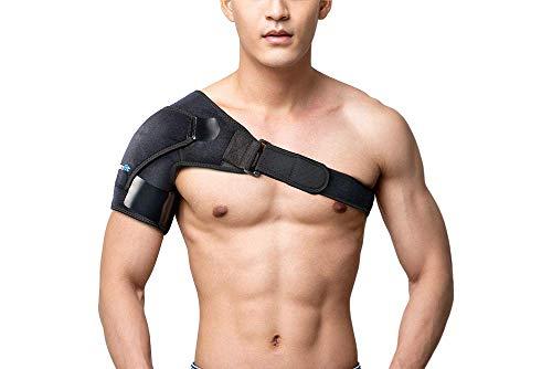 Shoulder Brace & Rotator Cuff Support Brace for Men & Women by BRANFIT, Shoulder Compression Sleeve...