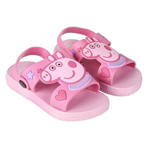 Peppa Pig Sandalias Niña Niñas, Rosa