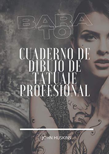 Barato: Grande 8.27x11.69 inch Cuaderno de bocetos de diseño profesional para tatuadores y estudios de arte corporal