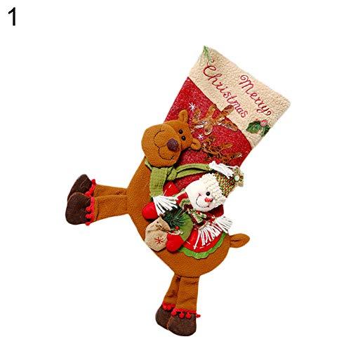 LbojailiAi Babbo Natale Pupazzo Di Neve Da Appendere Calza Della Befana, Decorazione Natalizia, Caramelle Regalo Pupazzo Di Neve*