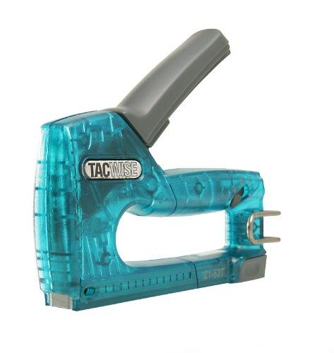 Tacwise 0858 Z1-53T Grapadora Manual, Verde Transparente