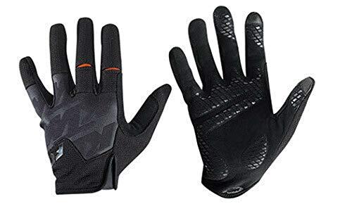 KTM MTB Handschuhe FC in Schwarz mit Gel Polster - Gr. M/L/XL, Größe:L
