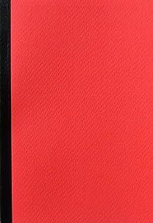 ショウエイドー A6ノート A6(48枚)5色ノート方眼5冊セット (赤)