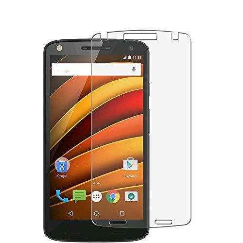Vaxson 3 Stück Schutzfolie, kompatibel mit Motorola Moto X Force, Bildschirmschutzfolie TPU Folie Displayschutz [nicht Panzerglas Hülle Hülle ]
