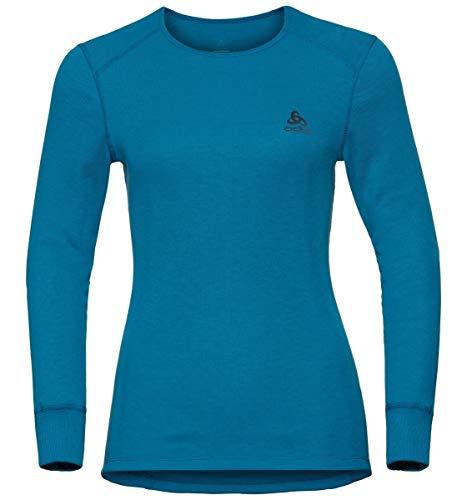 Odlo BL Active Warm T-Shirt à Manches Longues pour Femme, Style Turc, XS