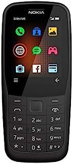 نوكيا 220 TA-1155 بشريحتي اتصال - 24 ميجا، الجيل الرابع ال تي اي، اسود