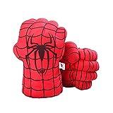 DDGOJUME Big Hulk Smash Hands, 1 par de Guantes de Boxeo Suaves de Hulk, Disfraz de Felpa de puño...