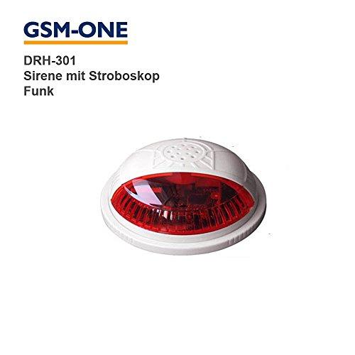 FUNKSIRENE für Fernschalter und Alarmsystem DRH-301-WIFI