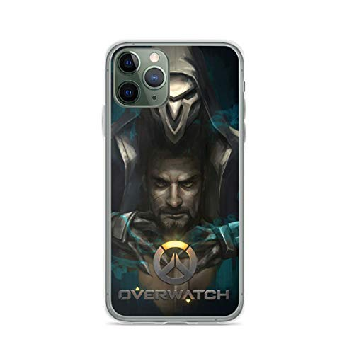 Phone Case Compatible with iPhone 6 7 8 X Xr 11 12 Se 2020 Overwatch 6s Reaper Plus Xs Pro Max Mini Accessories Waterproof Shock Drop Scratch Tested