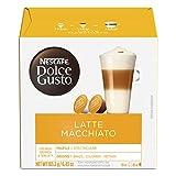 Nescafe Dolce Gusto Coffee Capsules, Latte Macchiato, 3x16 capsules, Makes 24 Servings