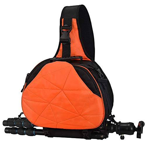 L&Z Camera Sling Bag Backpack with Cover Waterproof Shoulder Bag Crossbody...