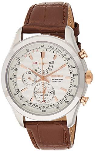 Seiko Chronograph Perpetual SPC129P1 Cronografo uomo Calendario perpetuo