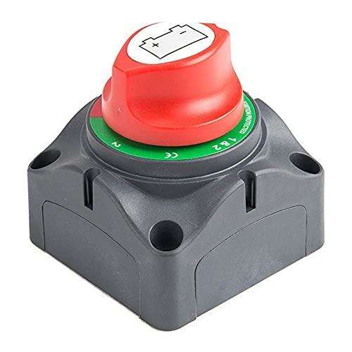MeiKeL 3 Posición Desconecte el interruptor maestro de aislamiento, 12-60V Corte de energía de la batería Cortar el interruptor de matanza, ajuste para el automóvil / vehículo / RV / Barco / Marine, 2