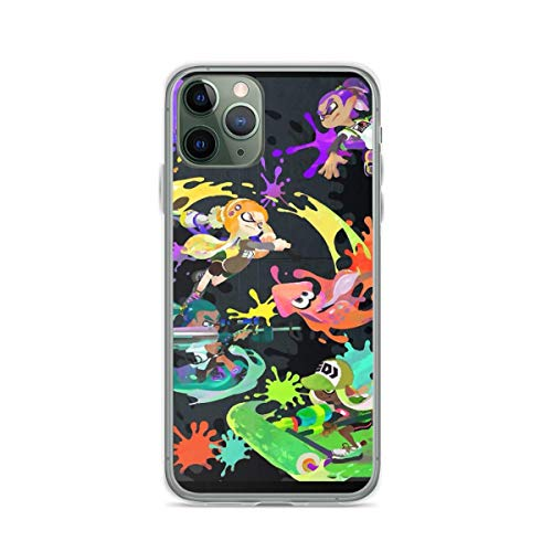 Phone Case Splatoon Phone Case Compatible with iPhone 6 6s 7 8 X XS XR 11 Pro Max SE 2020 Samsung Galaxy Waterproof Funny Accessories