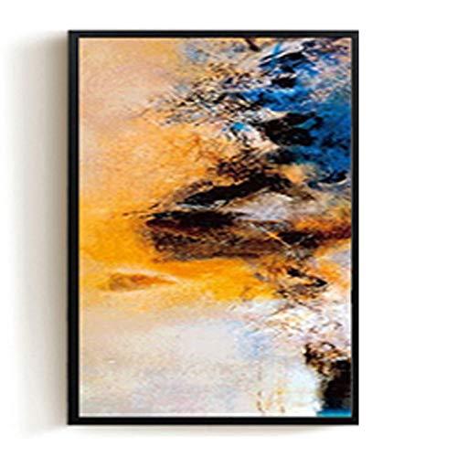 Sala de Estar Moderna Pintura Decorativa Minimalista Hotel Pintura al óleo sofá Fondo Pared luz Abstracta Pintura 30X40CM