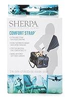 Sherpa 56014 Travel Pet Carrier Accessory Comfort Strap, One Size, Black 141[並行輸入]