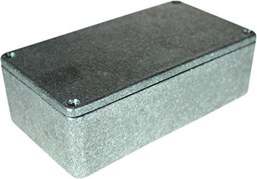 TronicXL 66 x 120 x 40 mm Elektro Gehäuse Box Anschlußdose Elektrik Metallgehäuse Anschluss Dose Aluminium IP54