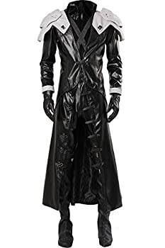 Cosplaysky Adult Outfit for Sephiroth Costume Final Fantasy VII  Remake Cosplay Halloween Outfit X-Large