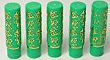 5 X Magie Hydrating Lipstick - Argan und Henna - Roll On Deluxe - Marokko