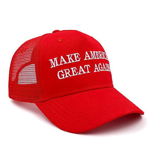 MINGZUO Make America Great Again Hat Embroidered Basebal Cap Keep America Great Red