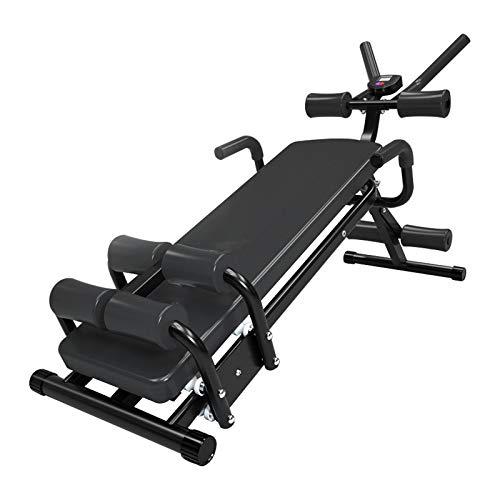 Banco de pesas ajustable, banco de entrenamiento de fuerza para entrenamiento de cuerpo completo con plegado rápido, para gimnasio en casa, levantamiento de pesas y entrenamiento de fuerza, máximo 300