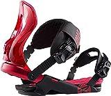 Rossignol Cobra Snowboard Bindings Mens Sz M/L (8+) Red
