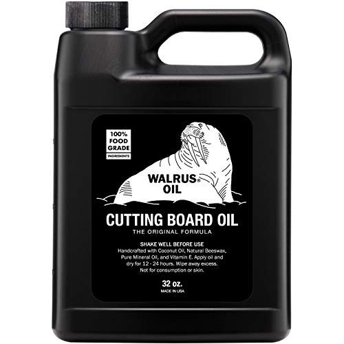Our #6 Pick is the Walrus Oil Butcher Block Oil