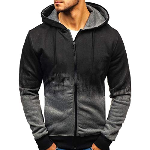 Learn More About Letdown_Men Hoodies Men Splicing Tie Dyeing Pullover Long Sleeve Hooded Sweatshirt ...
