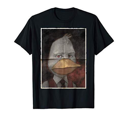 Marvel Howard The Duck Homesick Portrait T-Shirt