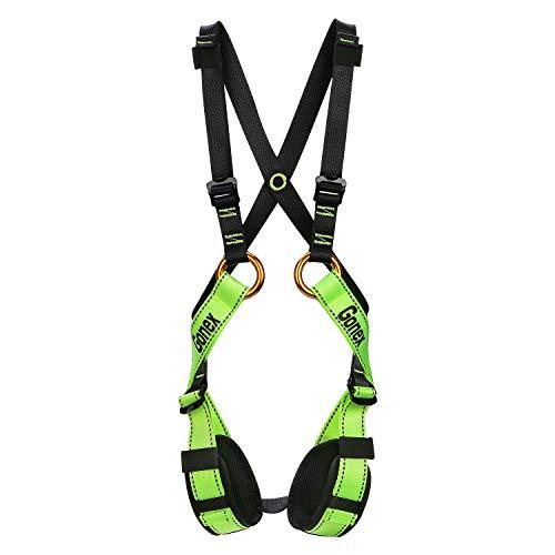 Gonex Kinder Klettergurt Ganzkörpergurt verstellbar Sicher Komfortabel für Bergsteigen Klettern Erweiterungs-Training Downhill Abseilen Zipline Jungen