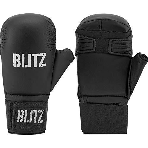 Blitz PU Elite mit Daumen, Schwarz, L
