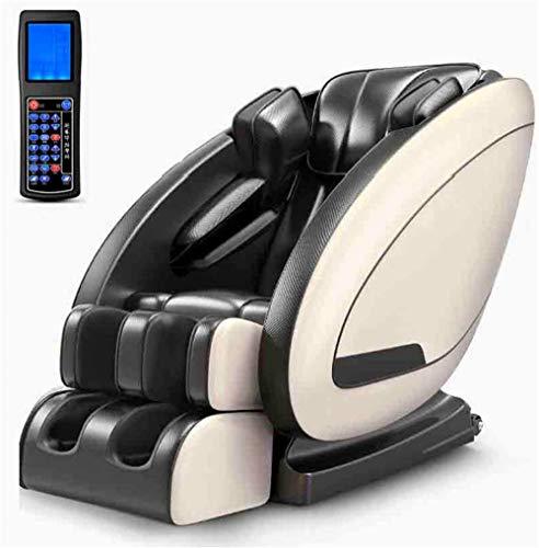 Sillón de masaje Masaje, Relax sillón de masajes con calor y LCD inteligente de control remoto for el cuerpo entero - se relaja el cuello, cintura, caderas, piernas, espalda, pies, cabeza, de bajo rui