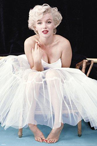 Pyramid America Marilyn Monroe Ballerina Color Movie Cool Wall Decor Art Print Poster 24x36