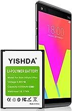 LG Stylo 3 Battery, YISHDA 4200mAh Li-Polymer Replacement Battery for LG Stylo 3, LG Stylo 3 Plus Cell Phone | LG Stylo 3 Spare Battery [18 Month Warranty]