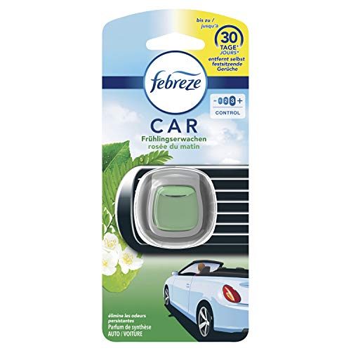 Febreze Auto Lufterfrischer (2 ml) Frühlingserwachen, Auto Duft gegen Gerüche