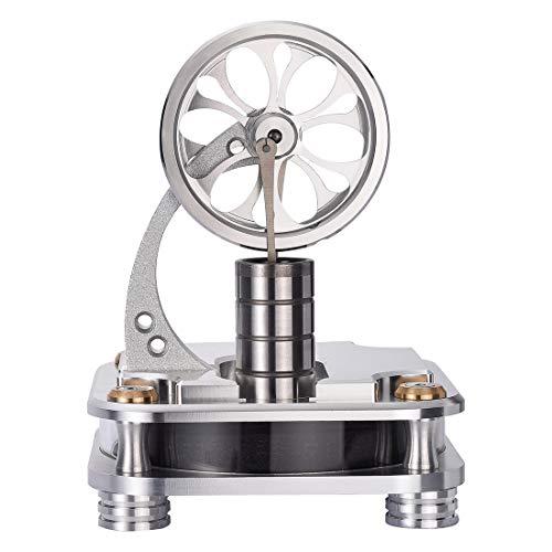Batop Stirlingmotor Bausatz Niedertemperatur Stirlingmotor Modell Dampfmaschine Modell Stirling Engine DIY Physik Unterricht Geschenk Spielzeug