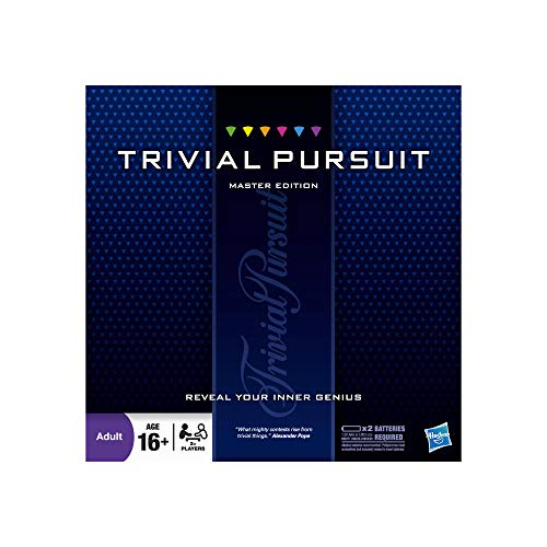 Hasbro 16762 Trivial Pursuit Master Edition Spiel, Multi