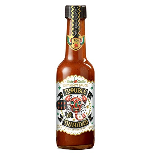 Mic's Chilli - Scharfe Soße Trouble Trinidad (900.000 Scoville) - 155 gramm