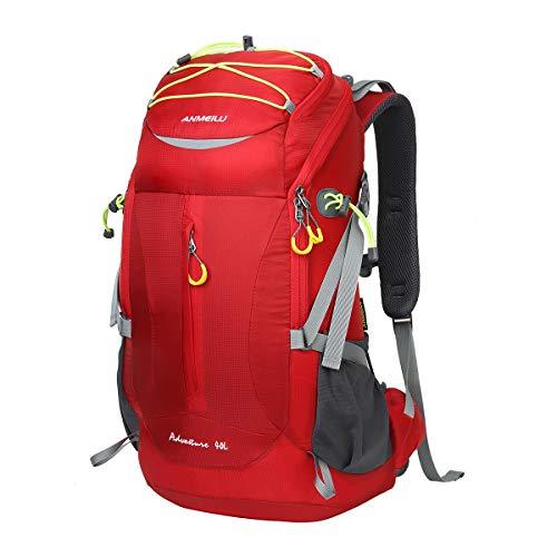 LOCALLION Zaino da Trekking 40L Zaino da Campeggio Zaini da Hiking 40 Litri Impermeabile Zaini Camping da Montagna Viaggio Alpinismo Sportivo