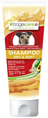 Bogacare Ubo0490 Shampoo Dry und Soft für Hund, 200 ml