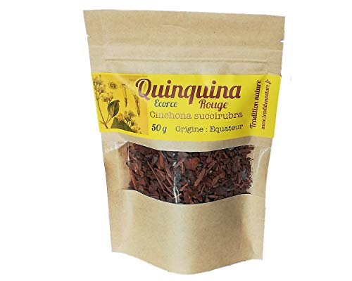 Corteza de quina roja para infusión bolsa de 50 g (Cinchona succirubra) 🌱 Tradition Nature