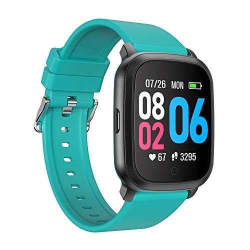 YoYoFit Smartwatch, Fitness Tracker con cardiofrequenzimetro, Smartwatch impermeabile IP68, orologio fitness con pressione sanguigna, contapassi, orologio sportivo da polso